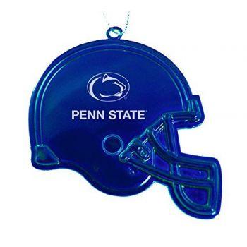 Pennsylvania State University - Christmas Holiday Football Helmet Ornament - Blue