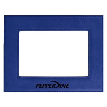 Pepperdine university-Velour Picture Frame 4x6-Blue