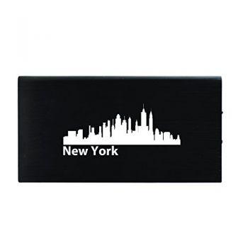 Quick Charge Portable Power Bank 8000 mAh - New York City City Skyline