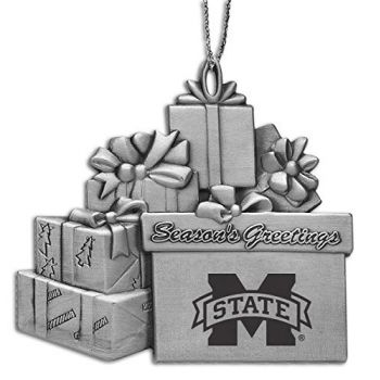 Mississippi State Univerty - Pewter Gift Package Ornament