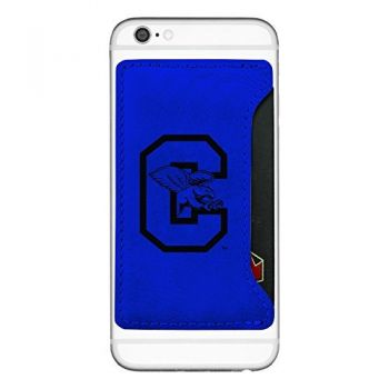Canisus College-Cell Phone Card Holder-Blue