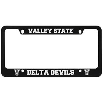 Mississippi Valley State University -Metal License Plate Frame-Black