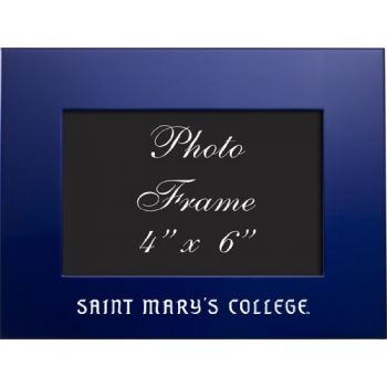 Saint Mary's College of California - 4x6 Brushed Metal Picture Frame - Blue
