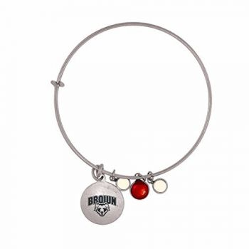 Brown University-Frankie Tyler Charmed Bracelet