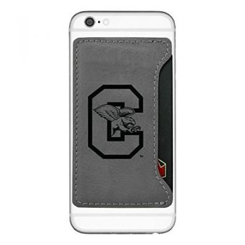 Canisus College-Cell Phone Card Holder-Grey