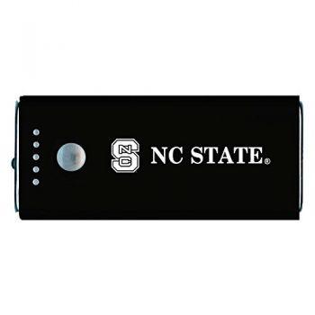 North Carolina State University -Portable Cell Phone 5200 mAh Power Bank Charger -Black
