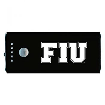Florida International University-Portable Cell Phone 5200 mAh Power Bank Charger -Black