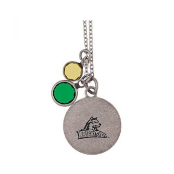 Wright State university -Frankie Tyler by LXG Charmed Necklace