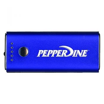 Pepperdine university -Portable Cell Phone 5200 mAh Power Bank Charger -Blue