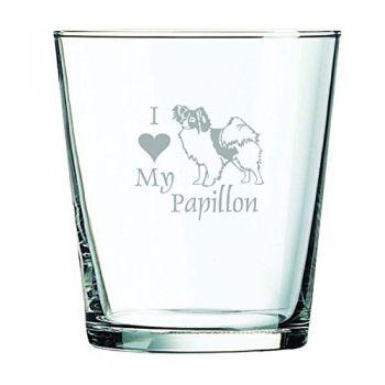 13 oz Cocktail Glass  - I Love My Papillon