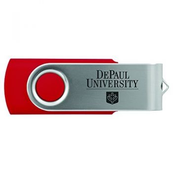 DePaul University -8GB 2.0 USB Flash Drive-Red