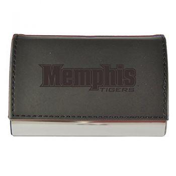 Velour Business Cardholder-University of Memphis-Black