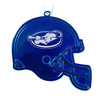 La Salle University - Chirstmas Holiday Football Helmet Ornament - Blue