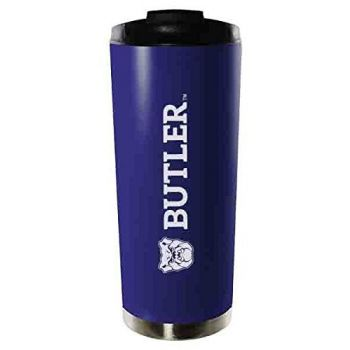 Butler University-16oz. Stainless Steel Vacuum Insulated Travel Mug Tumbler-Blue