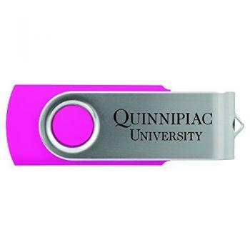 Quinnipiac University -8GB 2.0 USB Flash Drive-Pink