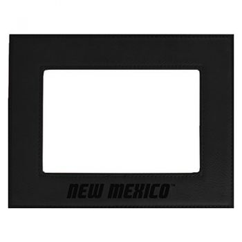 The University of New Mexico-Velour Picture Frame 4x6-Black