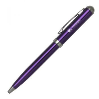 Northwestern State University - Click-Action Gel pen - Purple