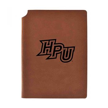 High Point University Velour Journal with Pen Holder|Carbon Etched|Officially Licensed Collegiate Journal|