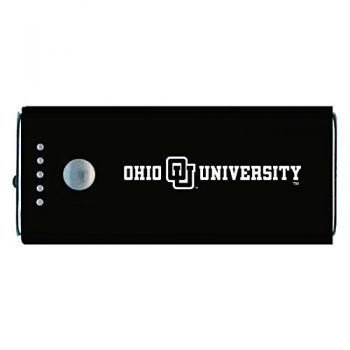 Ohio University -Portable Cell Phone 5200 mAh Power Bank Charger -Black