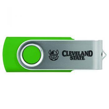 Cleveland State University -8GB 2.0 USB Flash Drive-Green