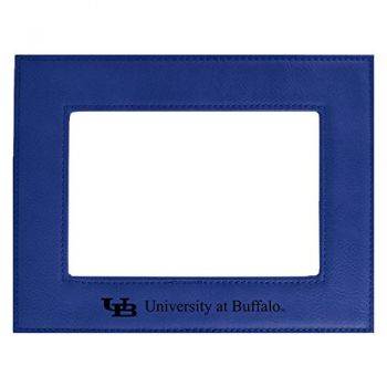 University at Buffalo-The State University of New York-Velour Picture Frame 4x6-Blue