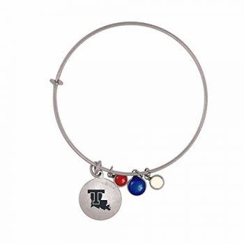 Louisiana Tech University-Frankie Tyler Charmed Bracelet