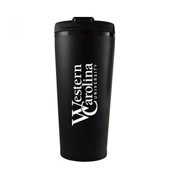 Western Carolina University -16 oz. Travel Mug Tumbler-Black
