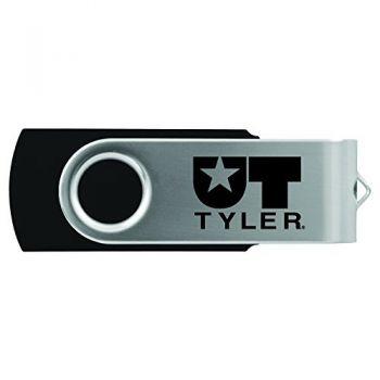 University of Texas at Tyler-8GB 2.0 USB Flash Drive-Black