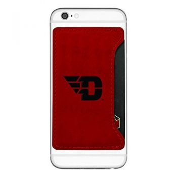 University of Dayton-Cell Phone Card Holder-Red