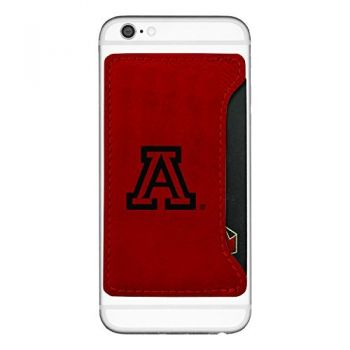 Arizona Wildcats-Cell Phone Card Holder-Red
