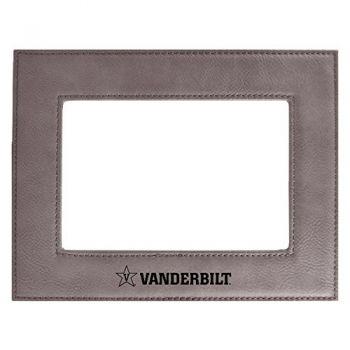 Vanderbilt University-Velour Picture Frame 4x6-Grey