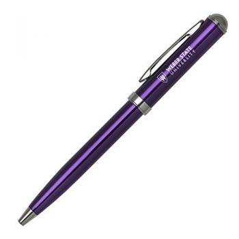 Weber State University - Click-Action Gel pen - Purple