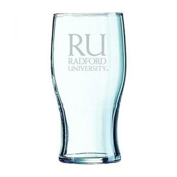 Radford University-Irish Pub Glass