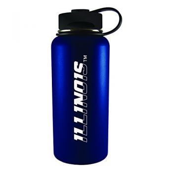 University of Illinois -32 oz. Travel Tumbler-Blue