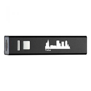 Quick Charge Portable Power Bank 2600 mAh - Tulsa City Skyline