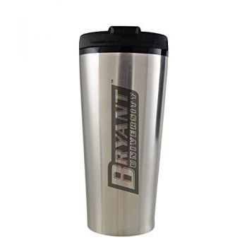 Bryant University -16 oz. Travel Mug Tumbler-Silver