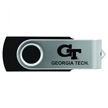 Georgia Institute of Technology -8GB 2.0 USB Flash Drive-Black