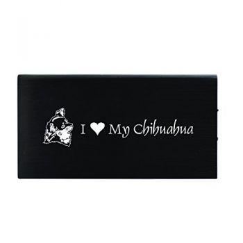 Quick Charge Portable Power Bank 8000 mAh  - I Love My Chihuahua