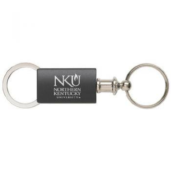 Northern Kentucky University - Anodized Aluminum Valet Key Tag - Black