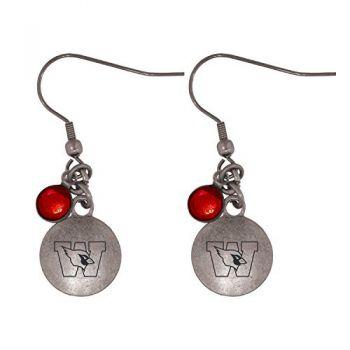 Wesleyan University-Frankie Tyler Charmed Earrings