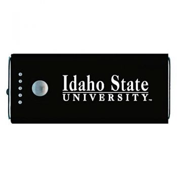 Idaho State University -Portable Cell Phone 5200 mAh Power Bank Charger -Black