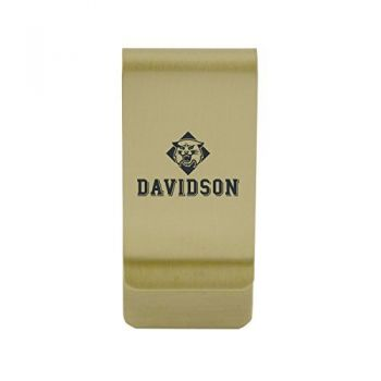 Dartmouth College|Money Clip with Contemporary Metals Finish|Solid Brass|High Tension Clip to Securely Hold Cash, Cards and ID's|Silver