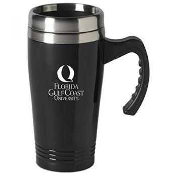 Florida Gulf Coast University-16 oz. Stainless Steel Mug-Black