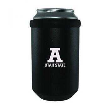 Utah State University -Ultimate Tailgate Can Cooler-Black