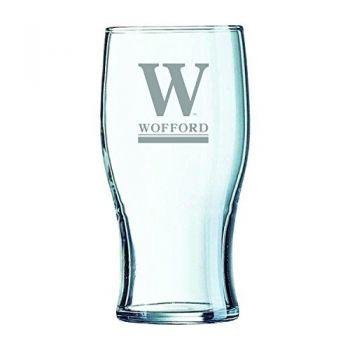 Wofford College-Irish Pub Glass