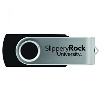 Slippery Rock University -8GB 2.0 USB Flash Drive-Black
