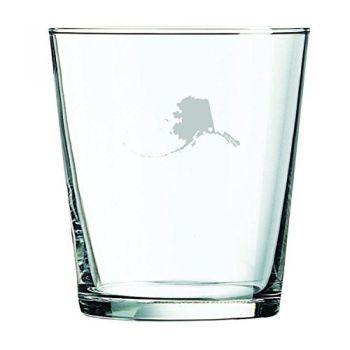 13 oz Cocktail Glass - I Heart Alaska - I Heart Alaska
