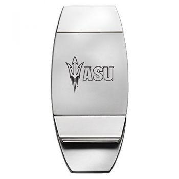 ASU Sun Devils - Two-Toned Money Clip