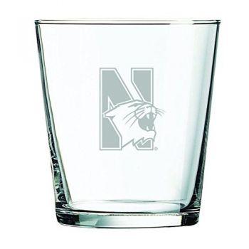 Northwestern University -13 oz. Rocks Glass