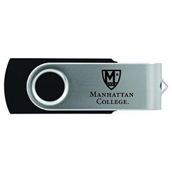 Manhattan College-8GB 2.0 USB Flash Drive-Black